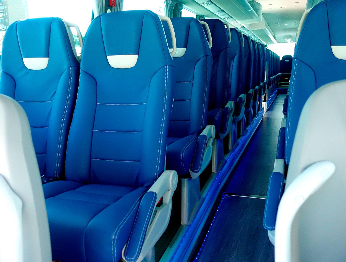 theBus interior Sillas